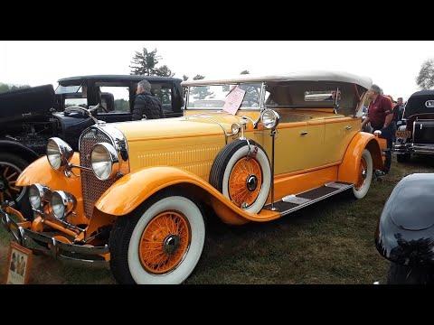Cars Of the Early Roaring Twenties Hudson,ranklin,Lincoln,Studebaker 2019 AACA Fall Meet,Hershey
