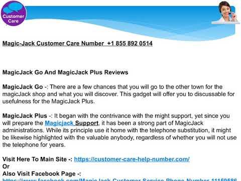 +1 (855) 892 0514   MagicJack Troubleshooting MagicJack Plus Troubleshooting