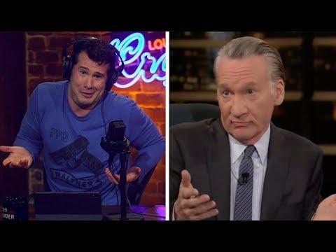 REBUTTAL: Bill Maher's Transgender Period Lies!   Louder with Crowder
