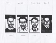 Received Buz Blurr Artistamps New York Summer 2006