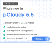 [Live webinar] What's new in pCloudy 5.5?
