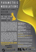 rat[LAB]EDUxMaterialDriven- LONDON 2020:: Parametric Modulations