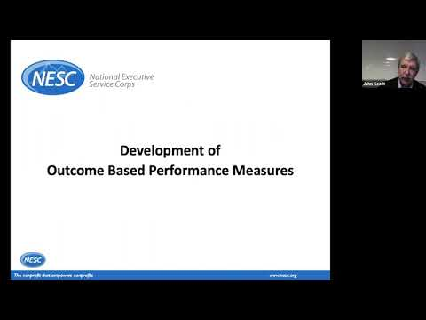 YANA Webinar: Performance Measures for Nonprofits