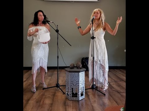 Shekina Rose & Kymberley Griffin Live in Sedona Soulogy Family of Light Gathering/Angels Calling