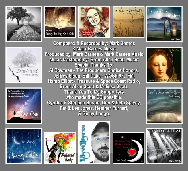 Mark Barnes, The Path CD Notes