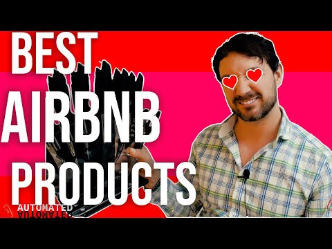My Favorite Airbnb Products (Late 2019) How to be a biggity bomb airbnb host.