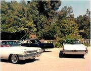 1963 and 1964 Eldorados in Beverly Hills