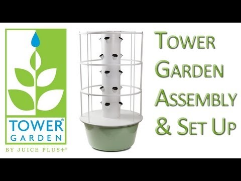 Tower Garden Assembly