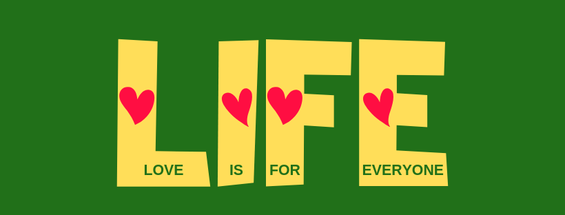 LIFE - Love Is For Everyone Logo