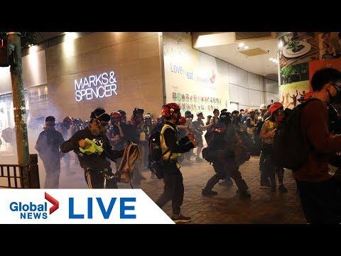 Hong Kong pro-democracy protesters gathered in Mong Kok   LIVE