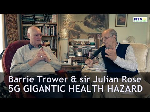 5G Gigantic health hazard (bees,birds, all life) - dr Barrie Trower & sir Julian Rose