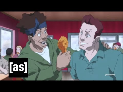How The Boondocks predicted the Popeye's Chicken Craze @TheRealBoyceWatkins