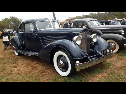 Ralph's 1934 Packard Aero Coupe At the 2019 AACA Fall Meet,Hershey
