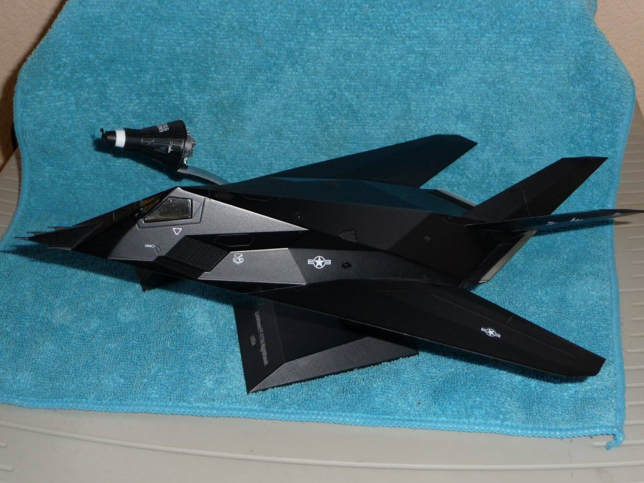 F-117 Nighthawk / Mercury Spaceship