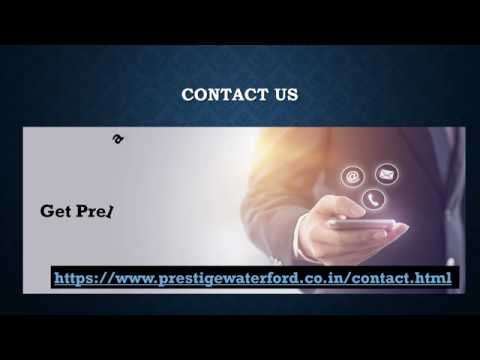 Prestige Waterford Whitefield | Residential Apartment | East Bangalore | Prestige Offers