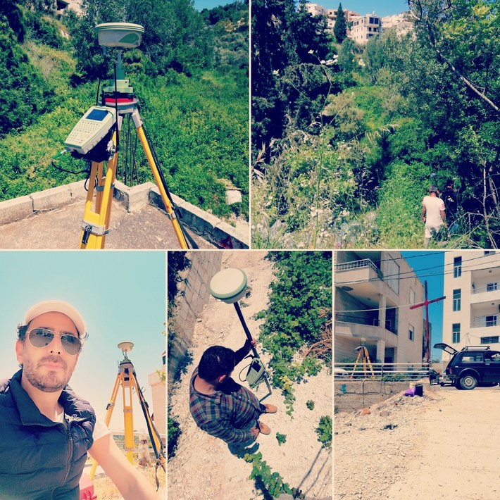 Land Surveying Mission In Lebanon