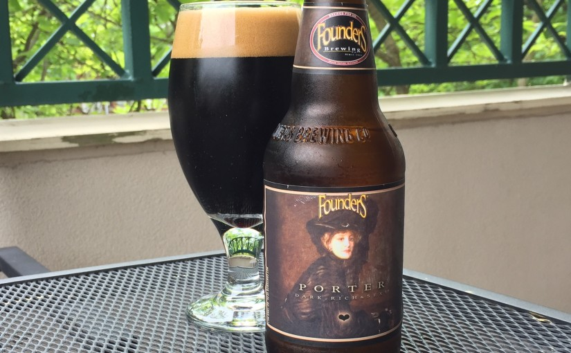 Founders Porter is a American Porter style beer brewed by Founders Brewing Company.