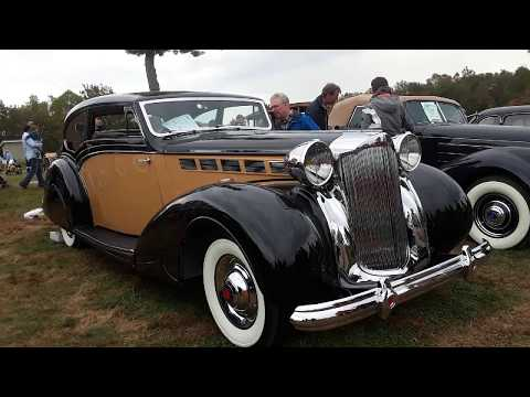 1938 Packard Super Eight Victoria Coupe At the 2019 AACA Fall Meet Hershey