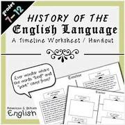 ENG501 History of English Language