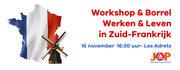 Workshop emigratie werken & leven in Frankrijk