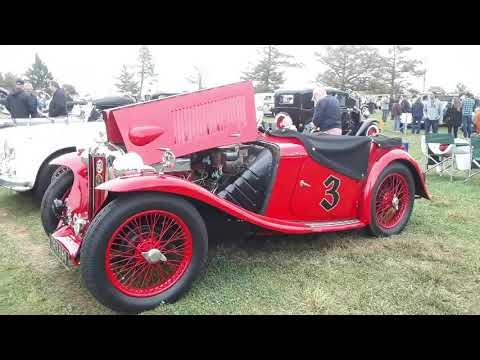 Austin Healey, Jaguar, MG and Triumph  At the 2019 AACA Fall Meet Hershey