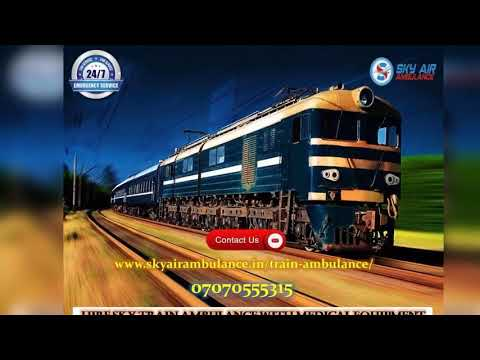 Avail 24 hour CCU Facility in Train Ambulance from Jamshedpur