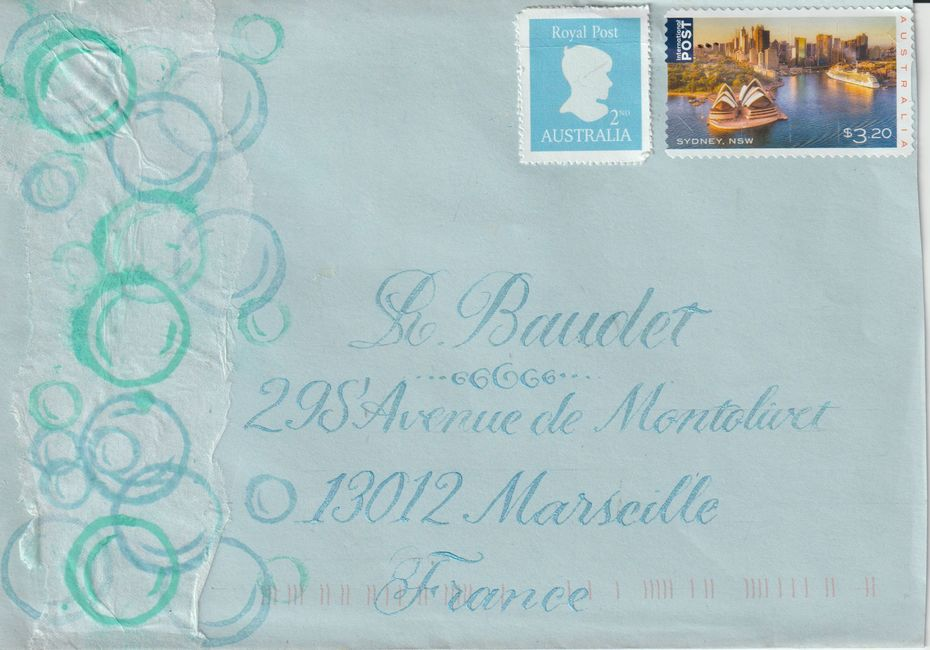 thank you ( letter ) The Artful Writer  (australia )