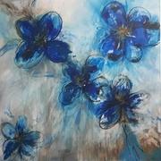"""Blaue Blume aus der Serie """"Aegean"""""""