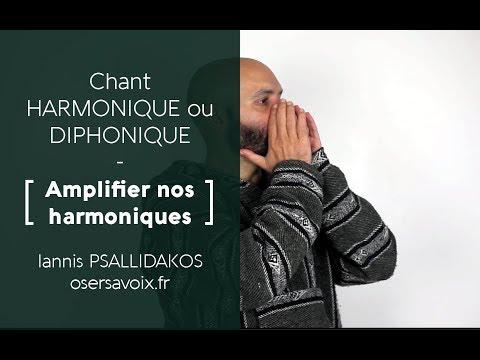 Chant Harmonique - Diphonique / Amplifier nos harmoniques // Φωνητική - Τραγούδι - Overtone singing