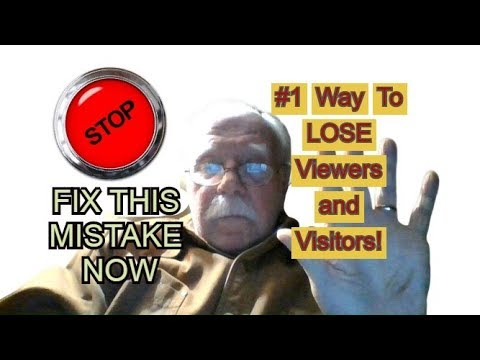 Stop Doing THIS!  #1 Mistake!