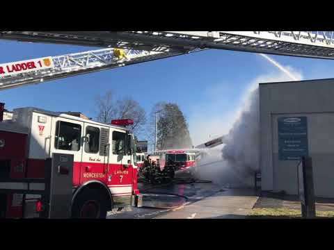 Worcester, MA Tatnuck Square Fire