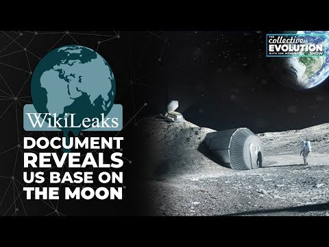 WikiLeaks Document Reveals US Base On The Moon