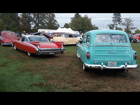 From Abarth To Victoria The Parade Of Remarkable Cars Leaving the 2019 AACA Fall Meet Hershey