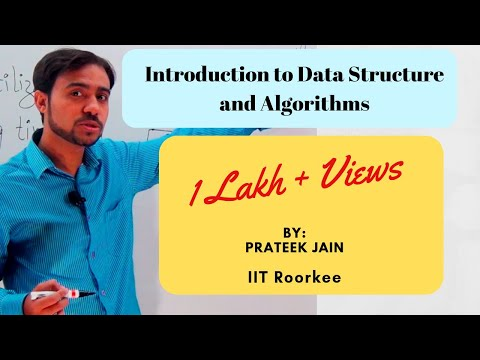 Tutorial 1 : Introduction to Algorithm and Data Structure in Hindi