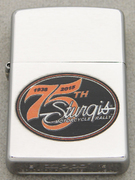 2015 BRUSHED CHROME ZIPPO STURGIS MOTORCYCLE RALLY 75TH ANNIVERSARY