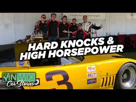 What breaks first? The Genius Garage Spirit or the IMSA Corvette?