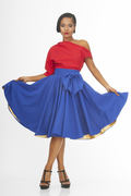 Main Couture_Blue Diva Blue Skirt