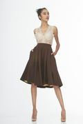 Main Couture_Little Brown Skirt