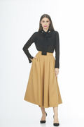 Main Couture_Brown Skirt