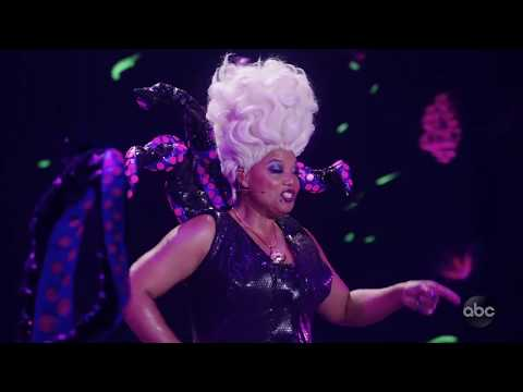 "Queen Latifah Basically Slayed the Whole Ocean With Her ""Poor Unfortunate Souls"" Performance"