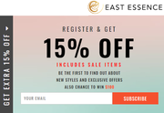 Get Extra 15% off at EastEssence