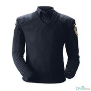 Classic V Neck Police Sweater Supplier