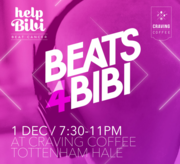 BEATS 4 BIBI : Fundraiser for local child with cancer
