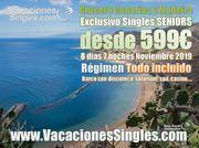 Crucero Canarias y Madeira Singles Seniors