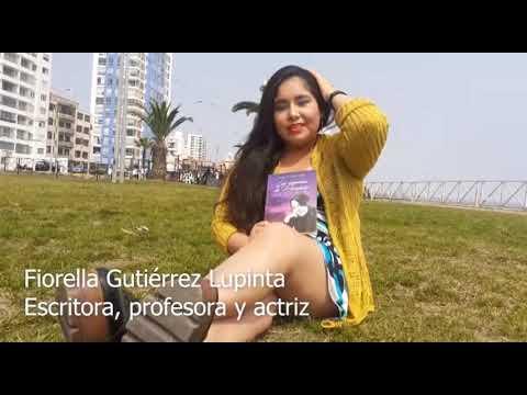 Confesiones de una joven escritora peruana Fiorella Gutierrez.