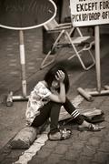 刘富威沙巴人文摄影:亚庇街头