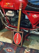 Ride the eagle Bike plate