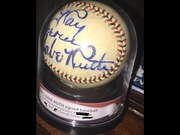 Babe Ruth signed baseball (PSA/DNA)