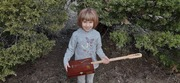 Granddaughter with completed 1 string CBG