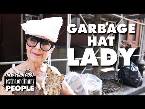 Garbage Hat Lady